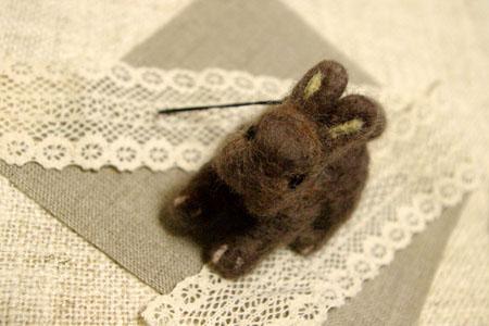 ウサギキーホルダー