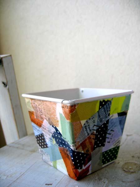 マスキングテープ鉢