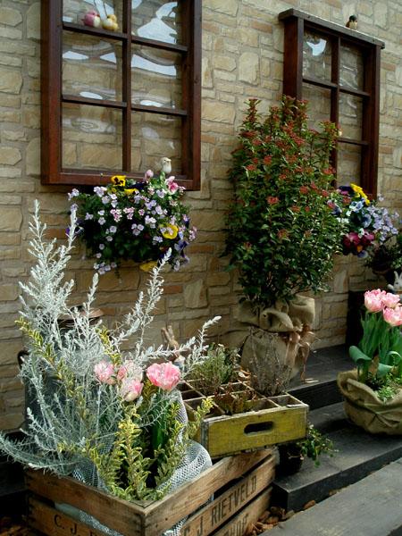 お庭の展示