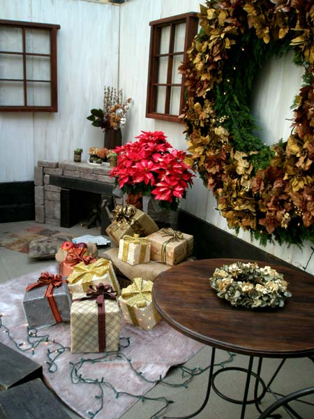 クリスマスなお部屋