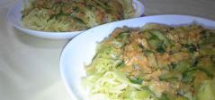 オートミールのジャージャー麺