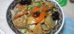 ベジ中華丼