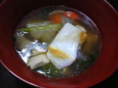 けんちん汁 (お雑煮)