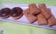 黒糖シナモン味おからスティックドーナツ