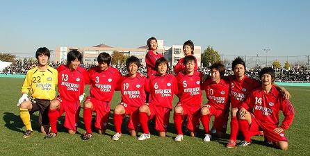 20081123試合前集合