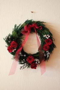 クリスマスリース2010_1