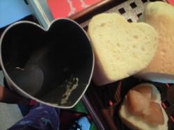 ハートのパン2