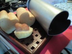 ハートのパン3