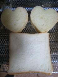 ハートのパン4