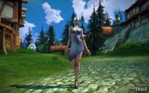 新しいドレス&パンプス
