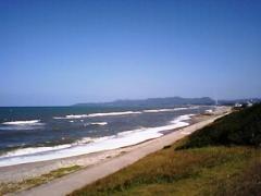 山陰・三里が浜海岸