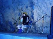 青い洞窟神秘的