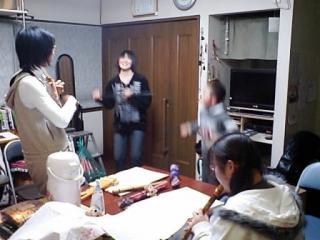 カマンチャカの槍ダンス