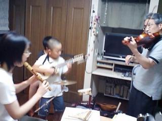 バイオリン入りサンフアニート
