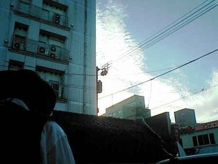 うろこ雲、秋の空