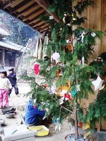 ひのきの手作りツリー