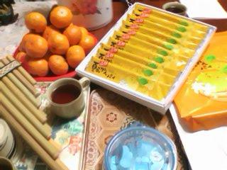 柑橘、カンキツ、そして作ったばかりのサンポーニャ♪