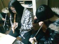 Ayaka(Quena) y Erika(Guitarra)