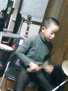 Suzuma on Drums