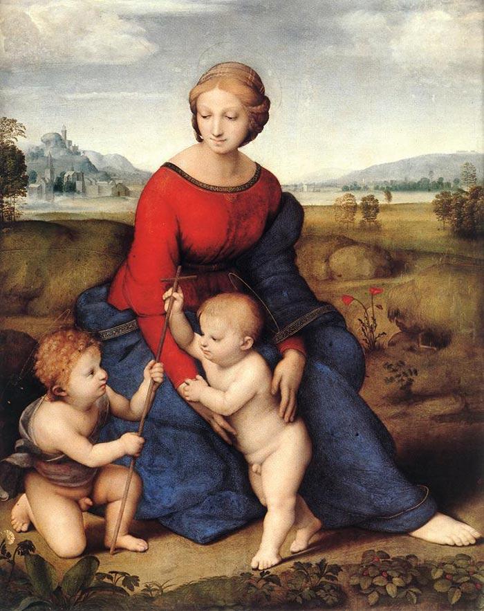 ベルヴェデーレの聖母