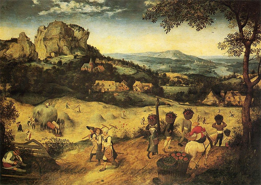 干し草の収穫 (The Hay Making)