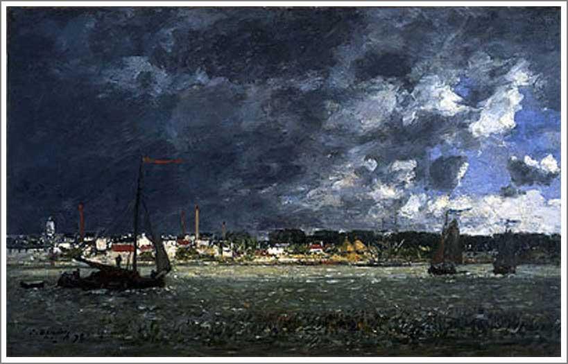 ブータン【アントワープの嵐(Storm over Antwerp)】