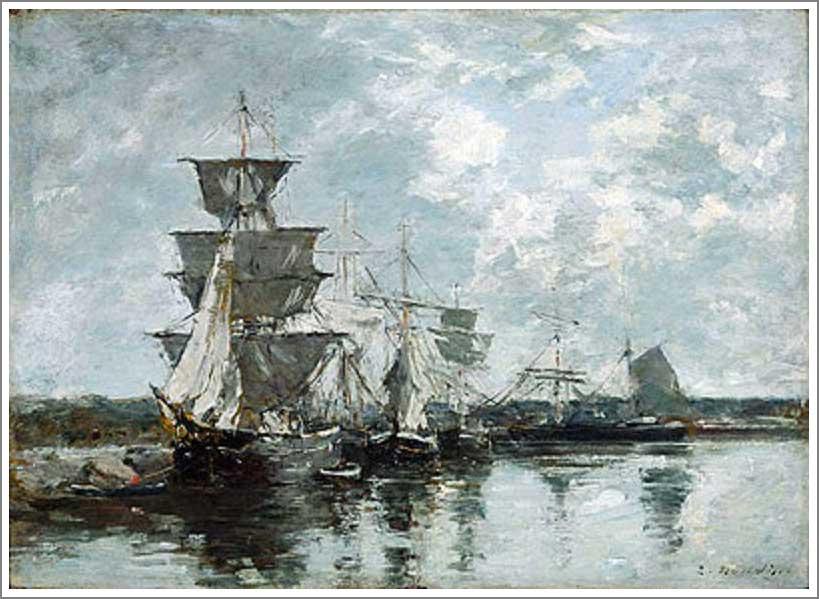 ブータン【港の景色(Harbor Scene)】