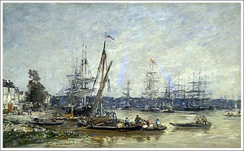 ブータン【ボルドーの港(Harbor at Bordeaux)】