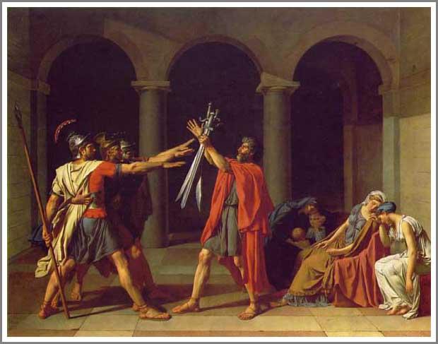 ダヴィッド【ホラテウス兄弟の誓い】