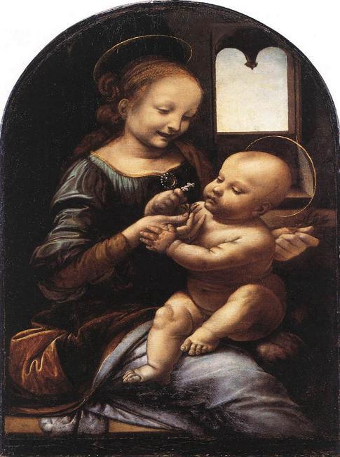 ブノアの聖母 アート名画館 ダヴィンチ