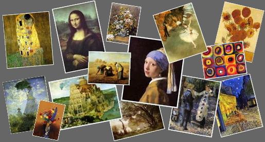 有名絵画(アート)美術館