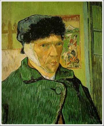 耳を包帯でくるんだ自画像 ゴッホ アート名画館
