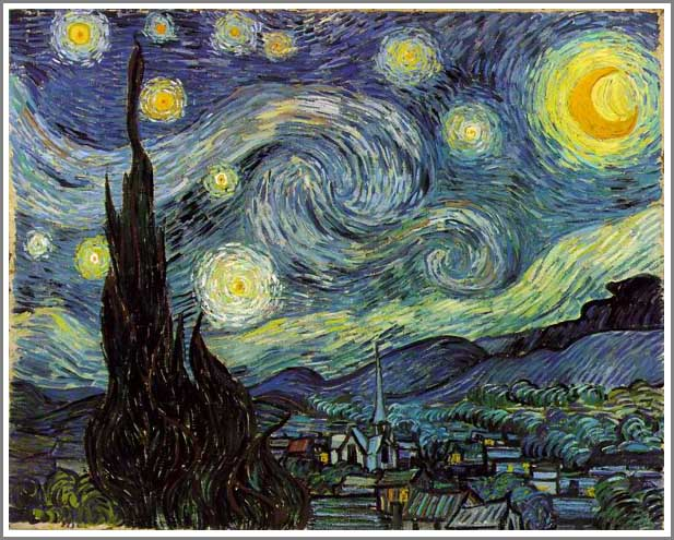 星月夜 ゴッホ アート名画館