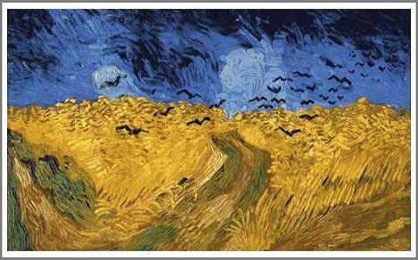 カラスのいる小麦畑 ゴッホ アート名画館