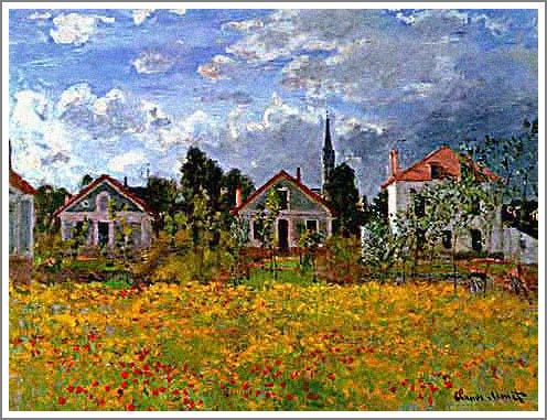 アルジャントゥイユの家 モネ