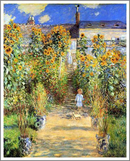 モネ ヴェトゥイユのモネの庭
