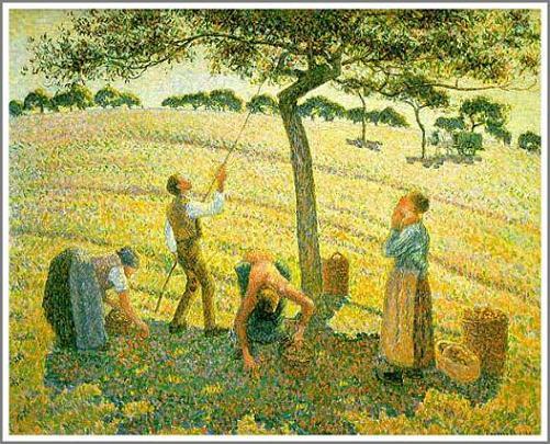 ピサロ エラニーでのりんご狩り