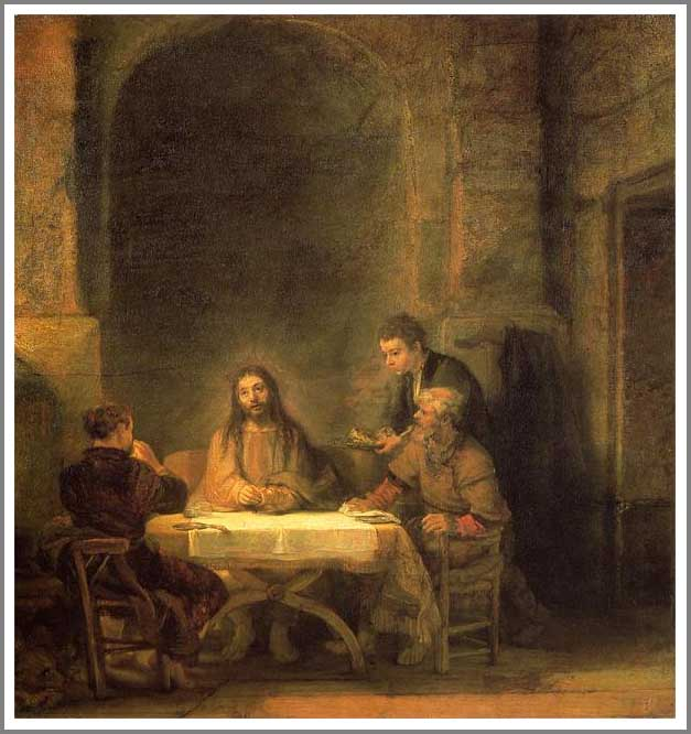 エマオの晩餐 (The Supper at Emmaus)