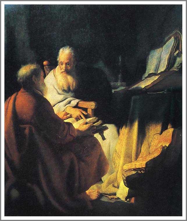 賢者の対話(聖ペテロと聖パウロの会話)