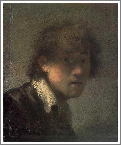 レンブラント「自画像」