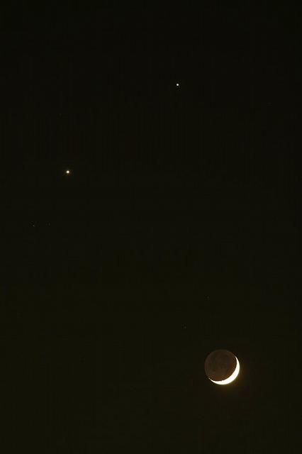 月金星木星