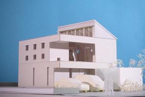 オープンハウス「おゆみ野の家」模型