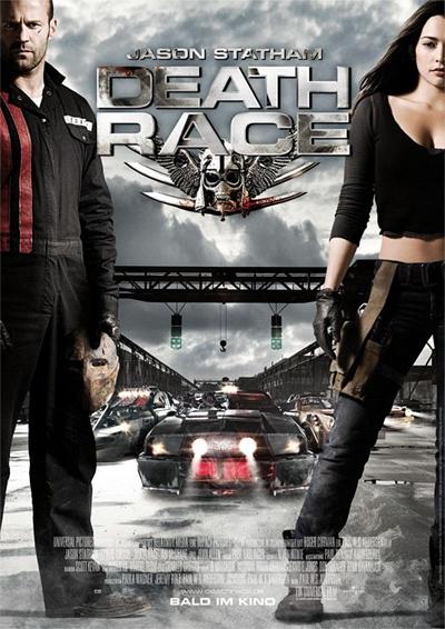 映画『デス・レース』のポスター