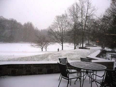 プリンストン雪景色