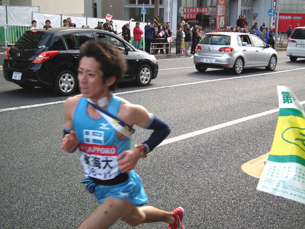 東海大・金子太郎選手の走り