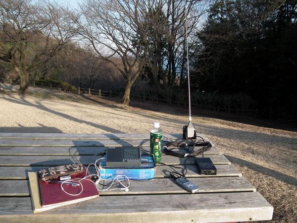 湘南、二宮町の吾妻山公園でのワッチ