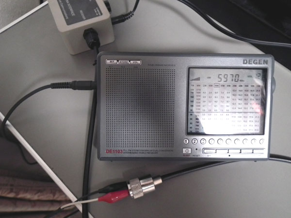 ALA-1530をDE1103に接続