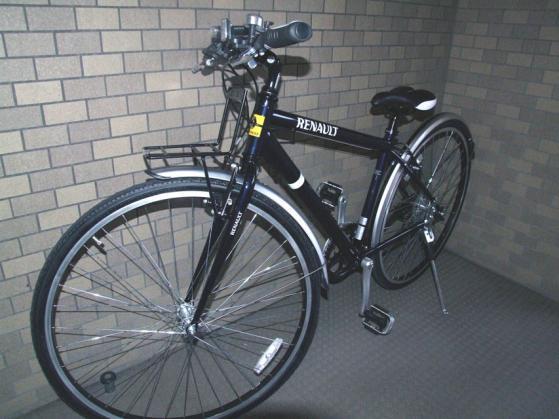 """購入した、RENAULTのクロスバイク""""CRB7006"""""""