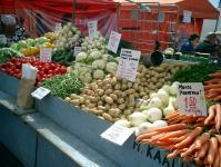 ヘルシンキの市場