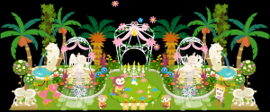 「ブライダルコンテスト」のお庭